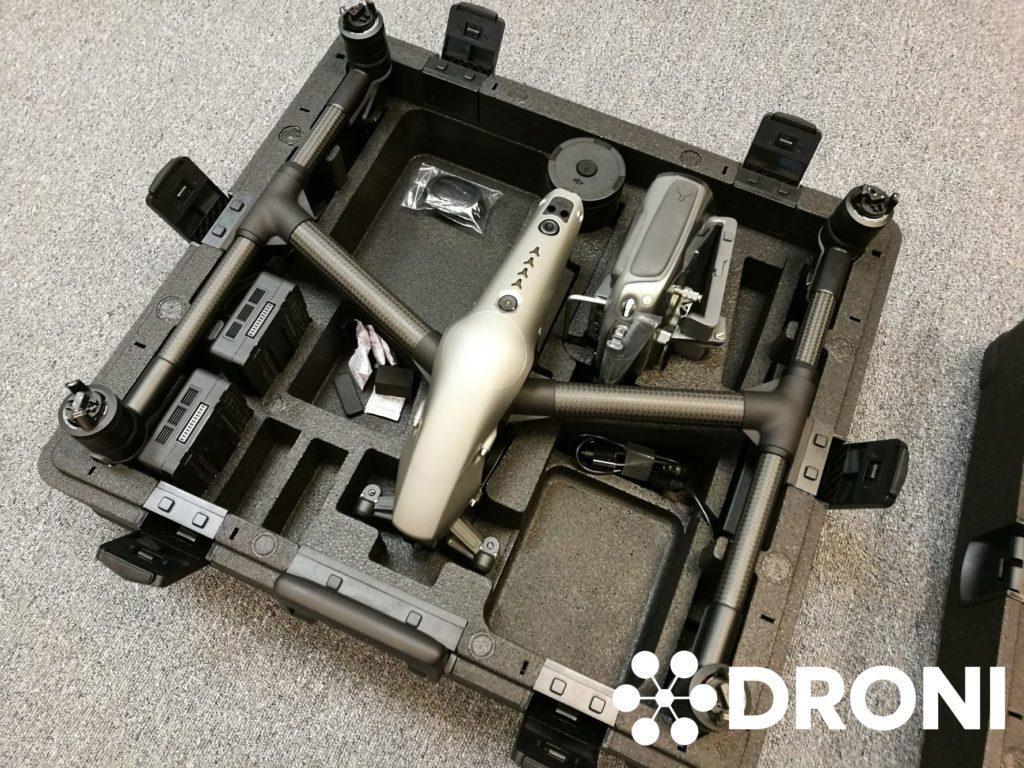 tvorba videa dron