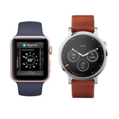 Wearables chytré hodinky
